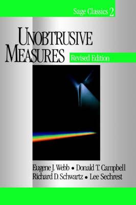 Unobtrusive Measures (Paperback)