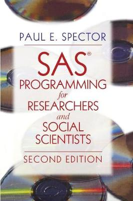 SAS Programming for Researchers and Social Scientists (Paperback)