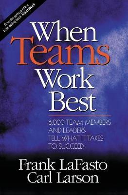 When Teams Work Best: 6,000 Team Members and Leaders Tell What it Takes to Succeed (Hardback)