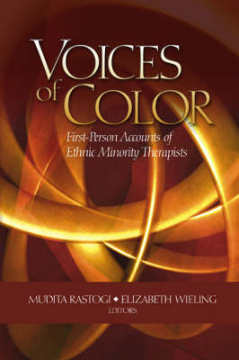 Voices of Color: First-Person Accounts of Ethnic Minority Therapists (Paperback)