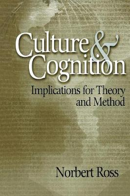 Culture and Cognition: Implications for Theory and Method (Paperback)