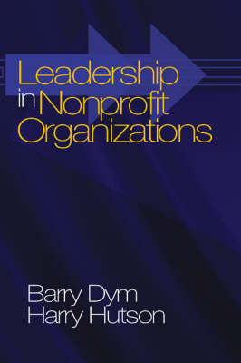 Leadership in Nonprofit Organizations: Lessons From the Third Sector (Paperback)