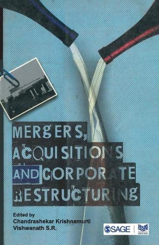 Mergers, Acquisitions and Corporate Restructuring (Paperback)