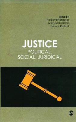 Justice: Political, Social, Juridical (Hardback)