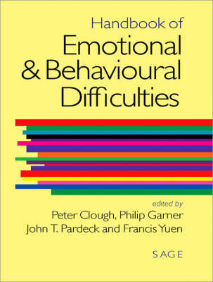 Handbook of Emotional and Behavioural Difficulties (Hardback)