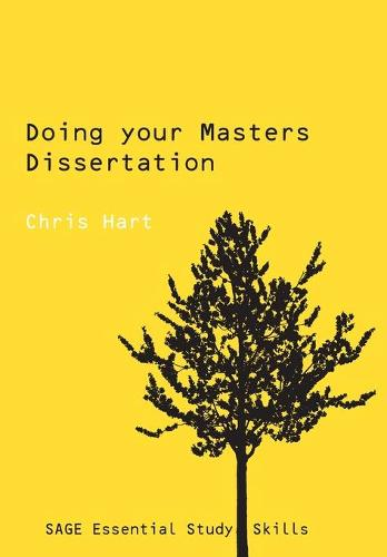Doing Your Masters Dissertation - Sage Study Skills Series (Paperback)