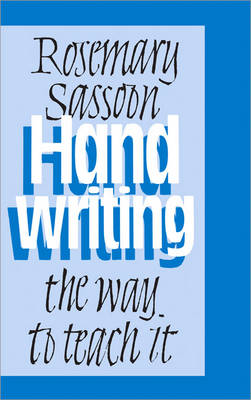 Handwriting: The Way to Teach It (Paperback)