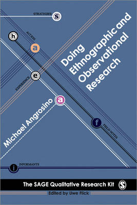 Doing Ethnographic and Observational Research - Qualitative Research Kit (Paperback)