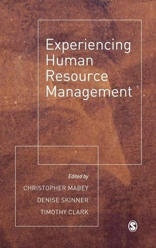 Experiencing Human Resource Management (Hardback)