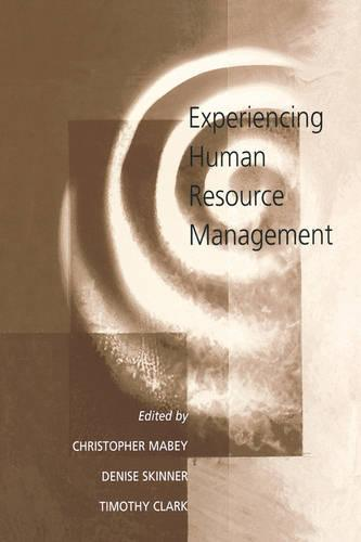 Experiencing Human Resource Management (Paperback)
