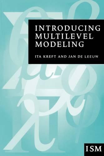 Introducing Multilevel Modeling - Introducing Statistical Methods series (Paperback)