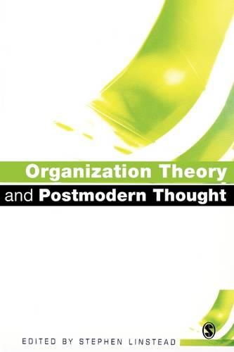 Organization Theory and Postmodern Thought (Paperback)