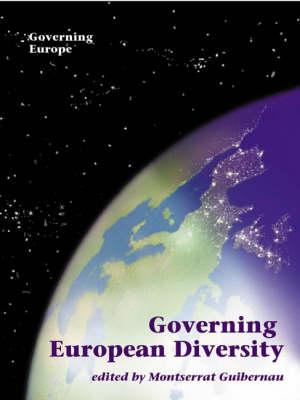 Governing European Diversity - Governing Europe series (Hardback)