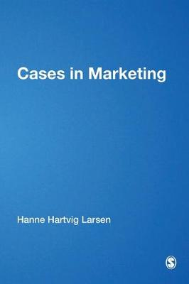 Cases in Marketing - European Management series (Paperback)