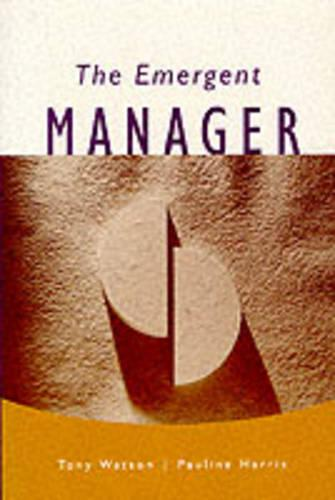 The Emergent Manager (Paperback)