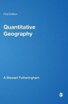 Quantitative Geography: Perspectives on Spatial Data Analysis (Hardback)