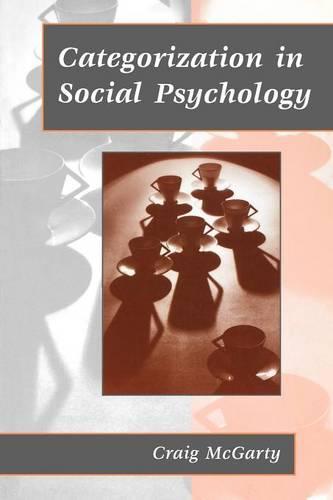 Categorization in Social Psychology (Paperback)