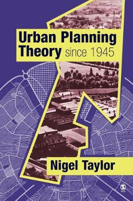 Urban Planning Theory since 1945 (Paperback)