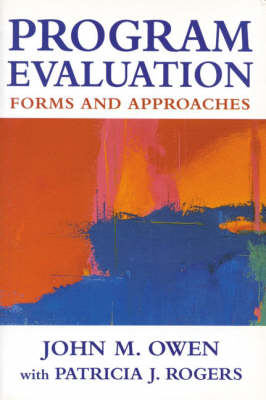 Program Evaluation: Forms and approaches (Hardback)