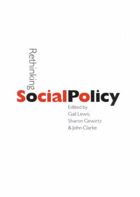 Rethinking Social Policy - Published in Association with The Open University (Hardback)