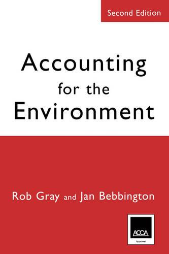 Accounting for the Environment (Paperback)