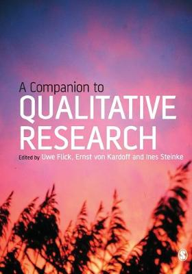 A Companion to Qualitative Research (Paperback)