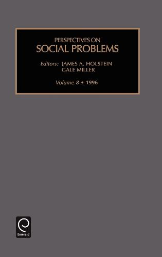 Perspectives on social problems - Perspectives on Social Problems 8 (Hardback)