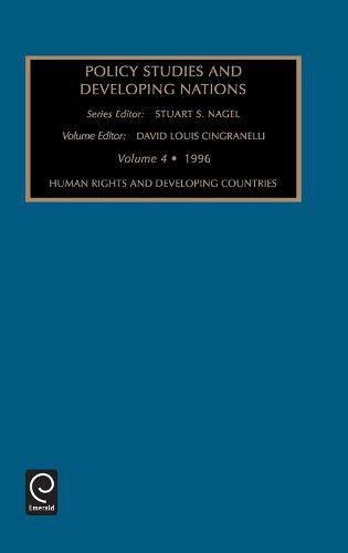 Policy Studies in Developing Nations - Policy Studies in Developing Nations 3 (Hardback)