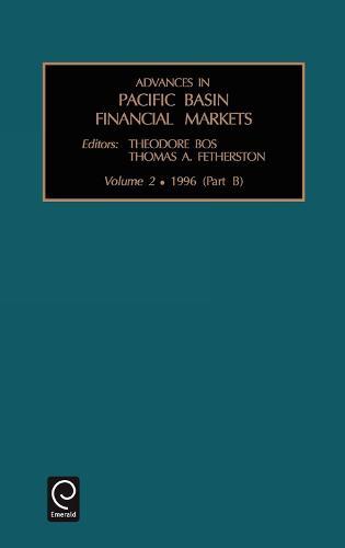 Advances in Pacific Basin Financial Markets - Advances in Pacific Basin Financial Markets 2 (Hardback)