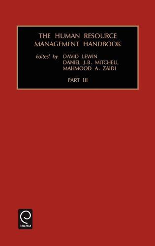Human Resource Management Handbook - Vol.3 - Human Resource Management Handbook (Hardback)