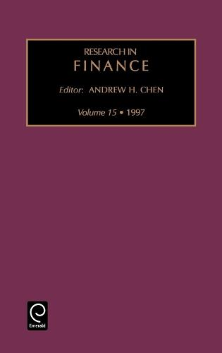 Research in Finance - Research in Finance 16 (Hardback)