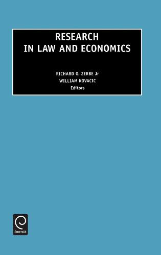 Research in Law and Economics - Research in Law and Economics 19 (Hardback)