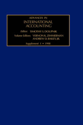The Evolution of International Accounting Standards in Transitional and Developing Economies: Volume V - Advances in International Accounting (Hardback)
