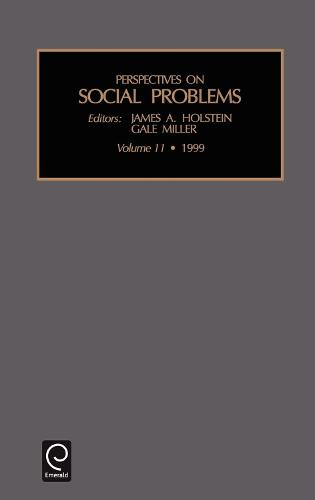 Perspectives on Social Problems - Perspectives on Social Problems 11 (Hardback)