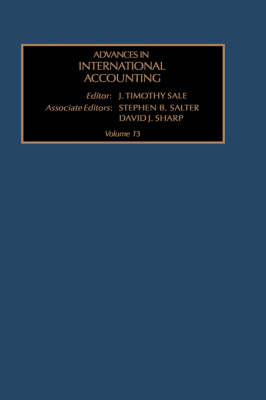 Advances in International Accounting: v. 13 - Advances in International Accounting 13 (Hardback)