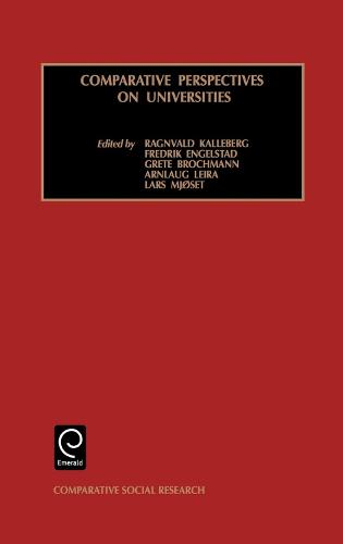 Comparative Perspectives on Universities - Comparative Social Research 19 (Hardback)