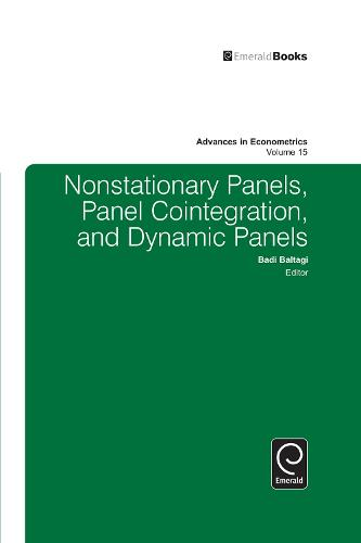 Nonstationary Panels, Panel Cointegration, and Dynamic Panels - Advances in Econometrics 15 (Hardback)