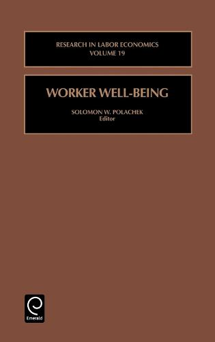 Worker Well-Being - Research in Labor Economics 19 (Hardback)