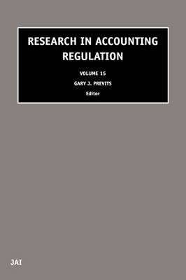 Research in Accounting Regulation: Volume 16 - Research in Accounting Regulation (Hardback)