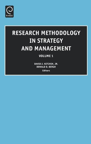 Research Methodology in Strategy and Management - Research Methodology in Strategy and Management 3 (Hardback)