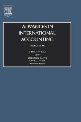 Advances in International Accounting: Vol 16 - Advances in International Accounting 16 (Hardback)
