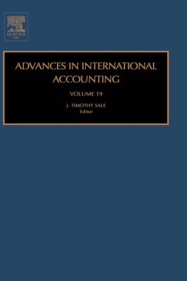 Advances in International Accounting: Volume 17 - Advances in International Accounting (Hardback)