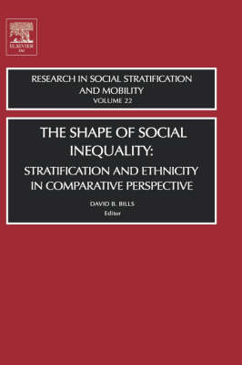 The Shape of Social Inequality: Volume 22: Stratification and Ethnicity in Comparative Perspective - Research in Social Stratification and Mobility (Hardback)