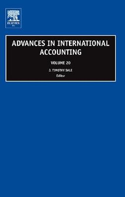 Advances in International Accounting: Volume 20 - Advances in International Accounting (Hardback)