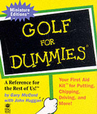 Golf for Dummies: a Reference for the Rest of Us! - Miniature Editions (Hardback)