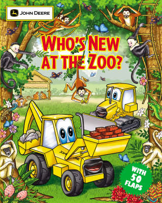 Who's New at the Zoo? - John Deere Series (Paperback)
