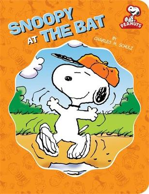 Peanuts: Snoopy at the Bat (Paperback)