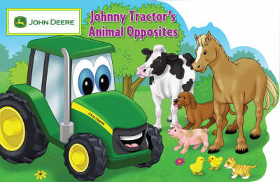 Johnny Tractor's Animal Opposites (Paperback)