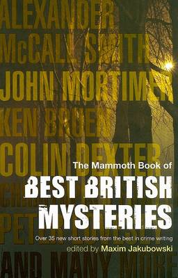 The Mammoth Book of Best British Mysteries: Bk. 6 (Paperback)