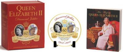 Queen Elizabeth II Diamond Jubilee Commemorative Plate and Book: Diamond Jubilee 1952-2012